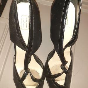Black Patten Leather shoes 9